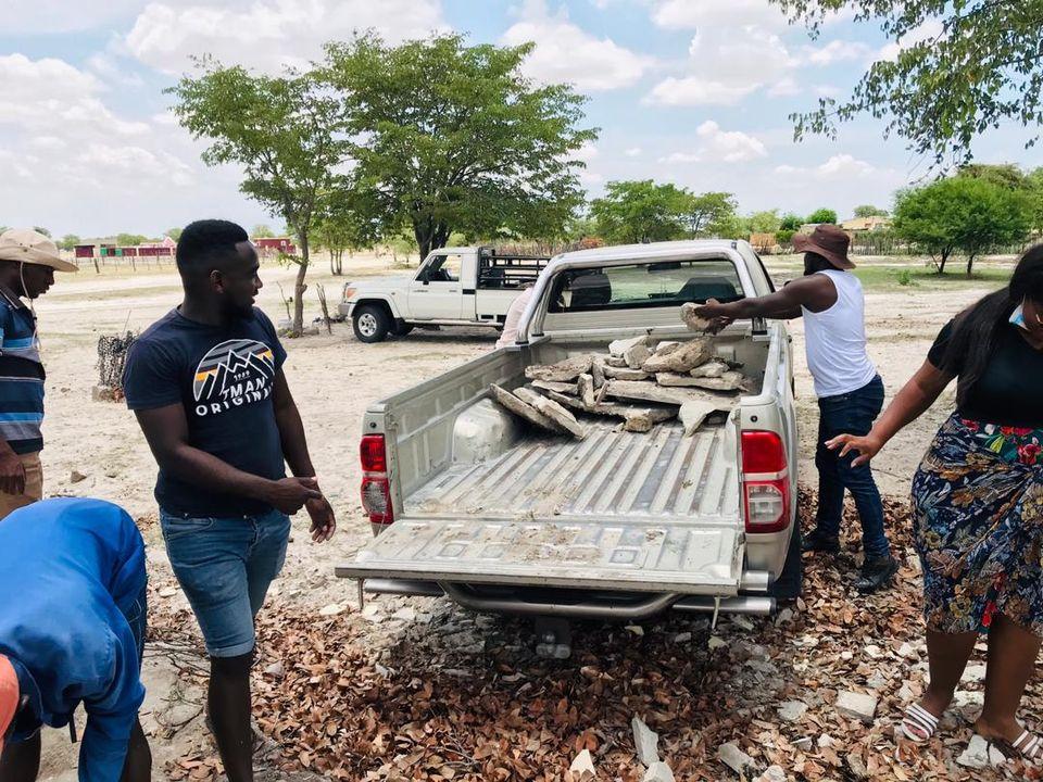 community Oshipumbu village Ompundja constituency rehabilitate gravel road
