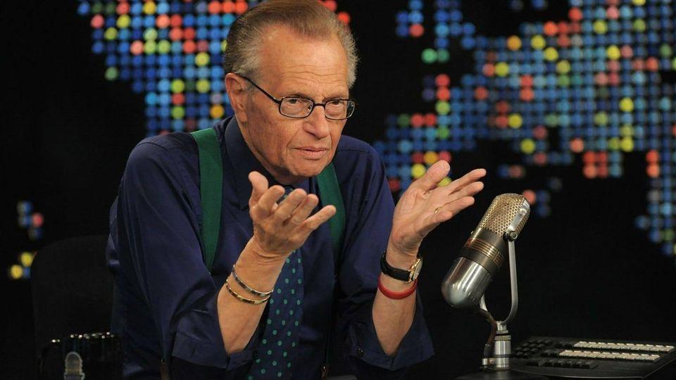 dies 87 CNN Larry King news interviews