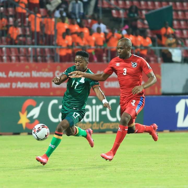 Namibia return home draw Zambia goalless Group D CHAN match