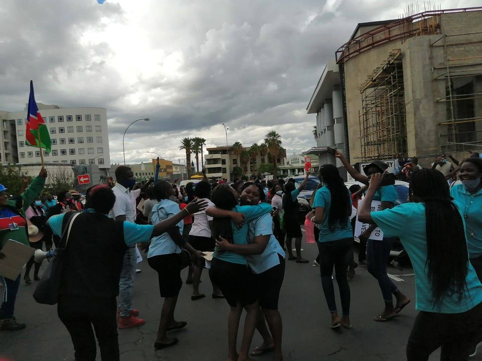 Shoprite Namibian Food Allied Workers Union NAFAU Shoprite wages