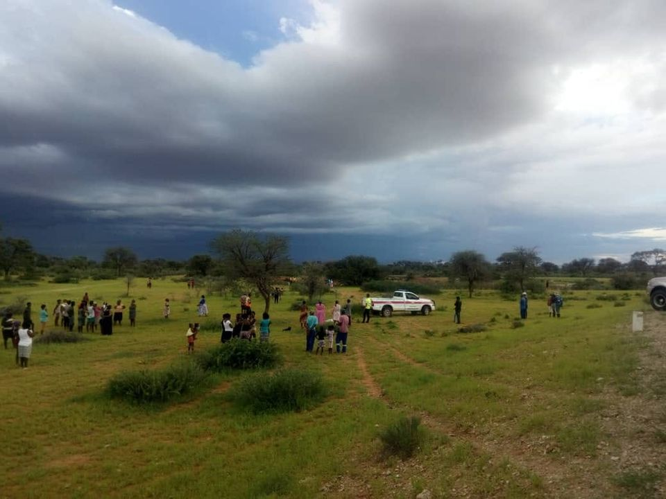 Tragedy Rehoboth community drowning waterhole heavy rains Sunday