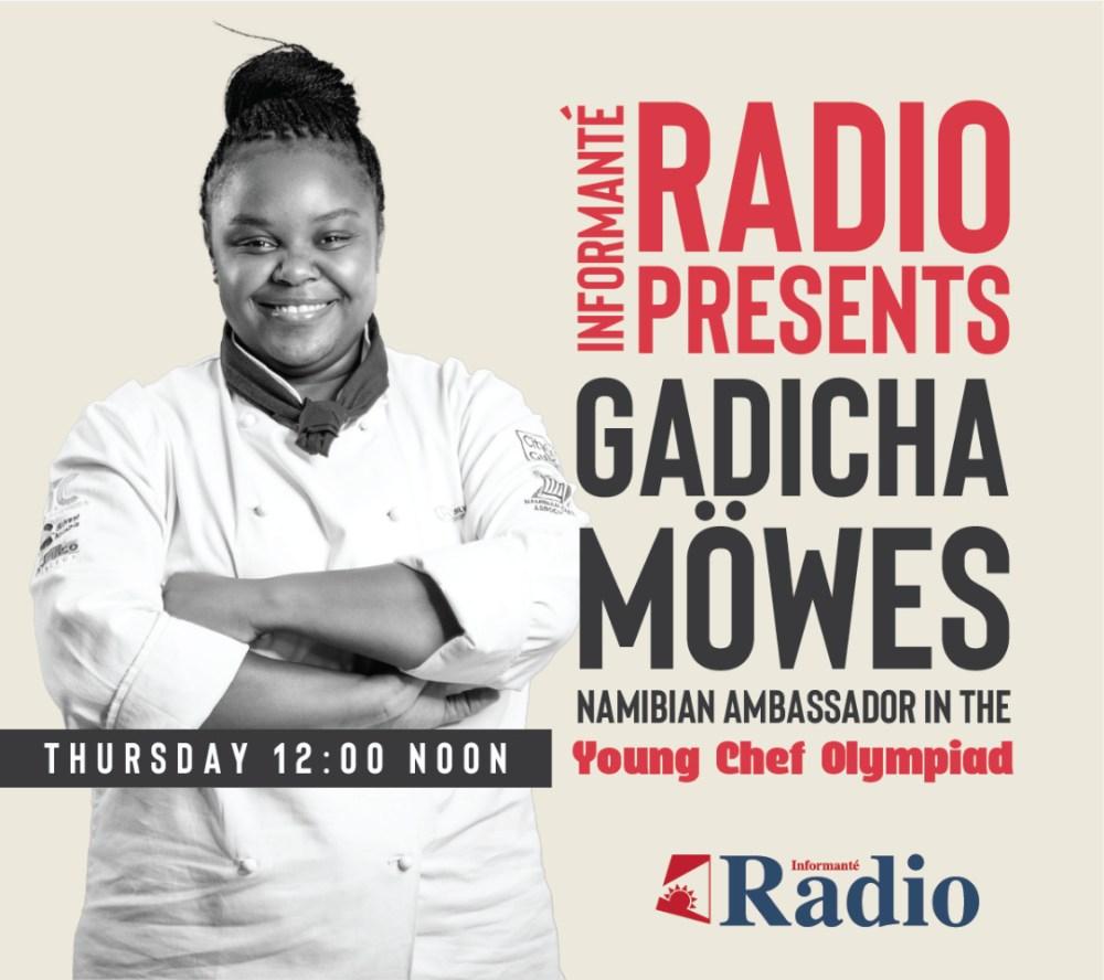 Gadicha Möwes Namibian student Silver Spoon Hospitality Academy Young Chef Olympiad 2021