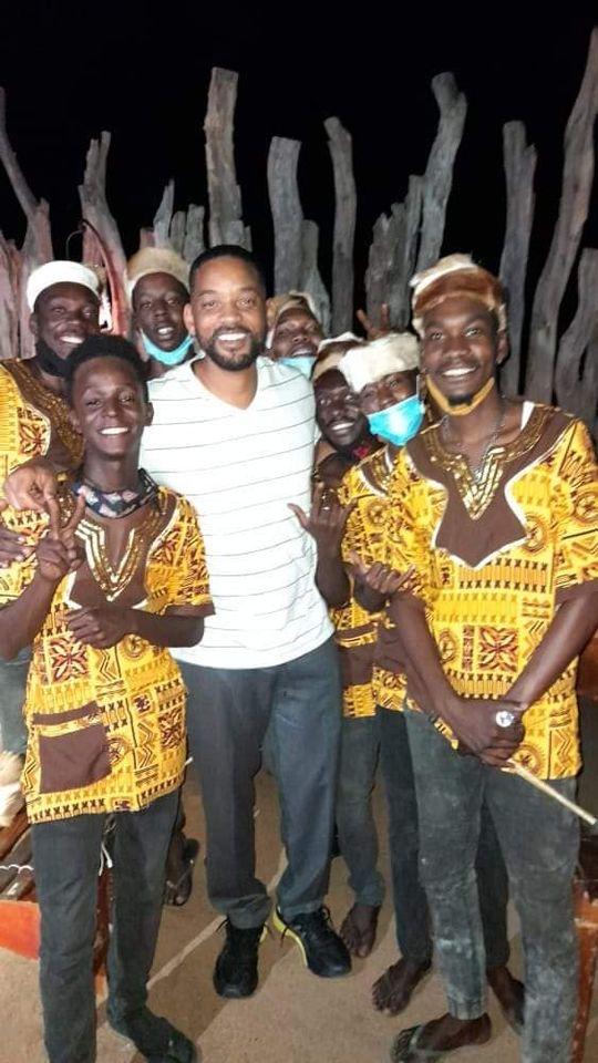 Hollywood superstar Will Smith Namibian villages Etosha Epupa