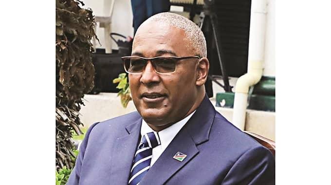 Namibia Ambassador Zim credentials Zimbabwe President Emmerson Mnangagwa economic field
