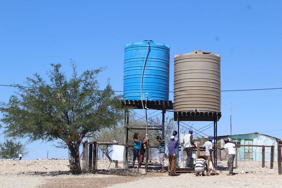 Omatjete suffering water shortage crisis settlement Erongo Region boreholes settlement