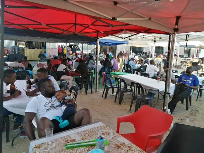 Shopkeepers alcohol ban lifted Ongwediva Open Market COVID-19 restrictions