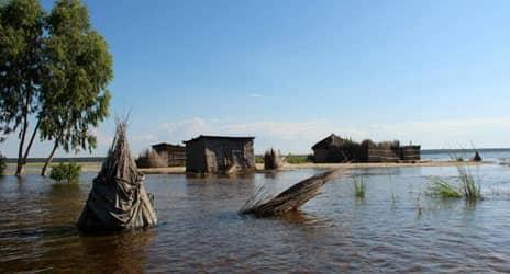 Zambezi Orange flood alert rivers River Katima Mulilo Lower Blouputs