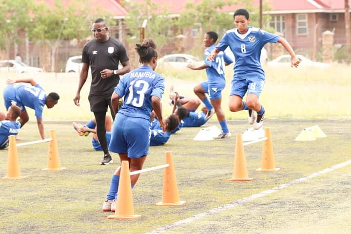 Brave Gladiators Angola senior women football friendly matches national team