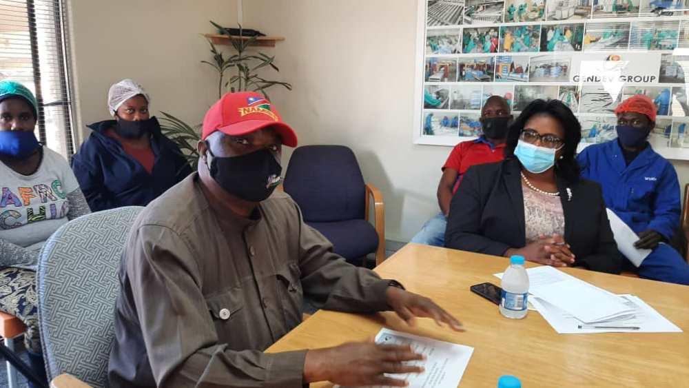 Plea shore-based fisheries workers fishing quotas workers Seaflower Pelagic Processing