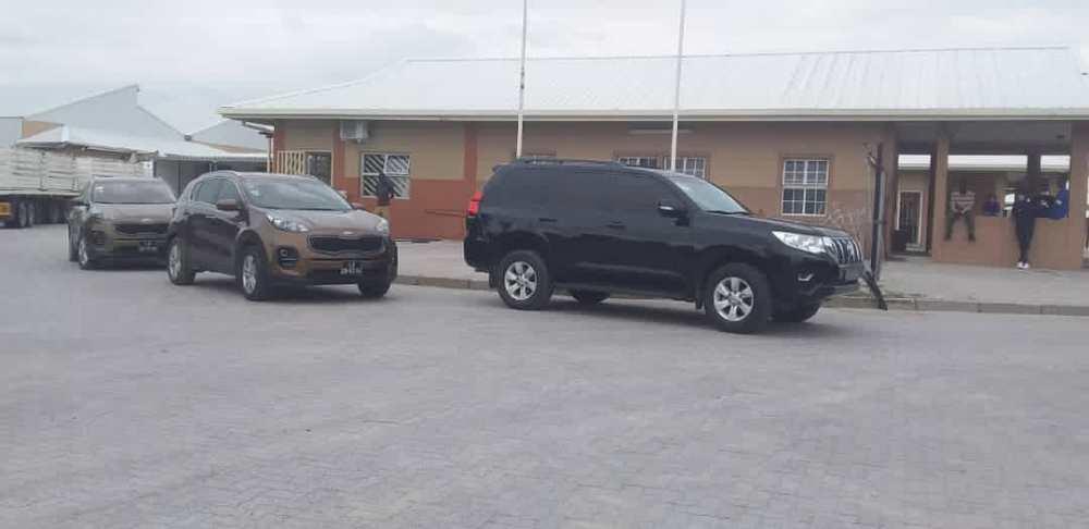 Stolen vehicles Namibian Police Ohangwena Region Luanda Bairro Patriota