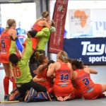 Hockey women secure place in the world cup