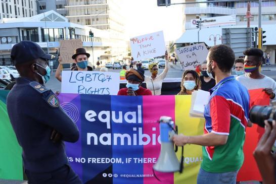 LGBTQ+ activists demand Nekongo's resignation