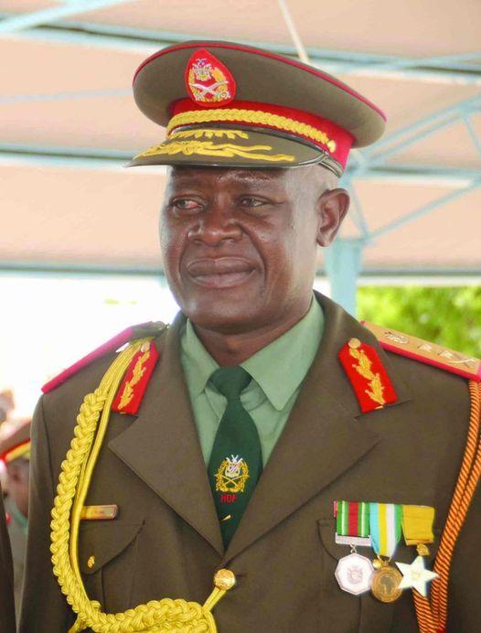 late Lieutenant General John Sinvula Mutwa former Chief Namibian Defence Force passed away