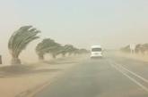 Dust storms in the desert pose danger for motorists