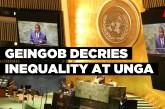 Geingob decries inequality at UNGA