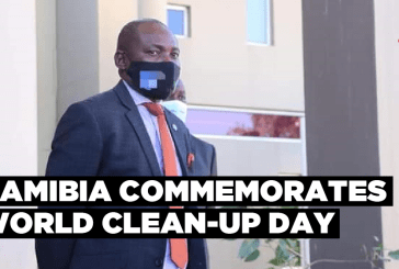 Namibia commemorates World Clean-up Day