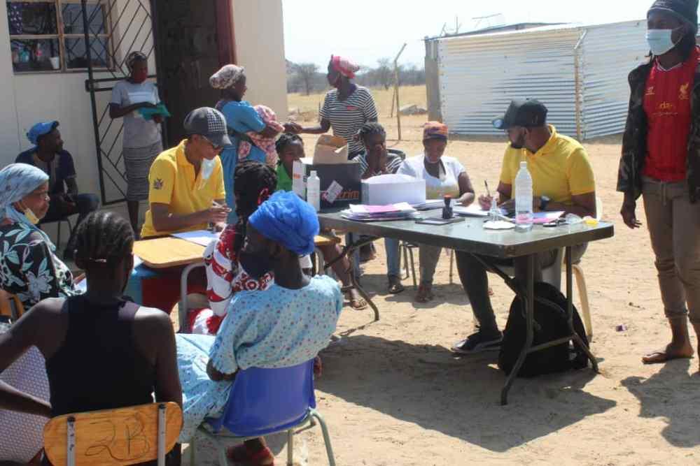 Omaheke vaccination GOVERNOR Omaheke Pijoo Nganate Omitara educate residents vaccinated