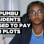 Ompumbu residents urged to pay for plots