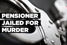 Pensioner jailed for murder