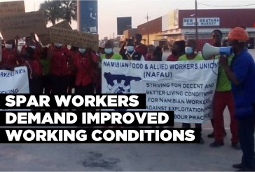 Spar workers demand improved working conditions