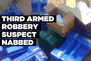 Third armed robbery suspect nabbed