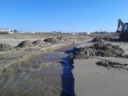 Sbancamento Lago Patria 2