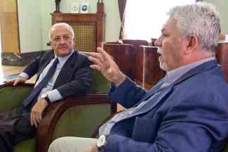 Vincenzo De Luca e Tommaso Morlando