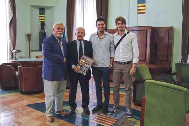 Da sx: Tommaso Morlando, Vincenzo De Luca, Fabio Corsaro e Giancarlo Palmese