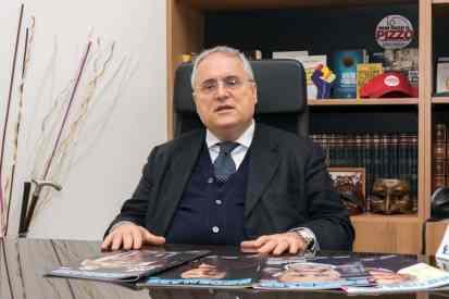 Claudio Lotito - Photo credit Gabriele Arenare