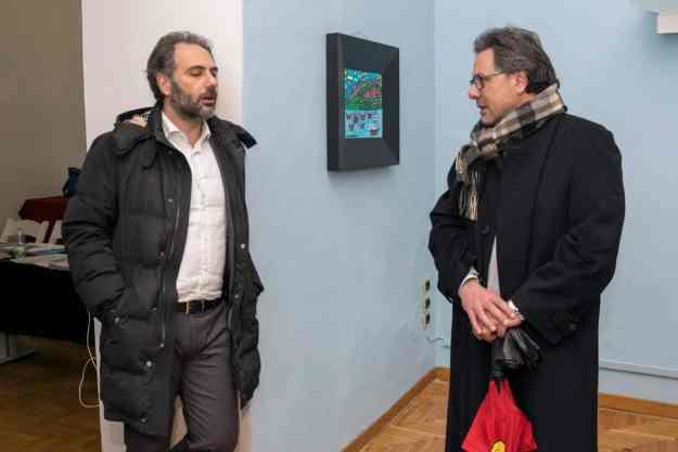 Catello Maresca e Angelo Morlando Officina Volturno & Arti e Mestieri - Photo credit Gabriele Arenare