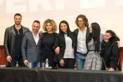 """Il cast de """"Il mio uomo perfetto"""" - Photo Credit Gabriele Arenare"""
