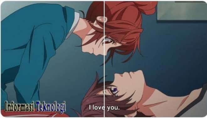 Pp Wa Anime Couple Aesthetic Terpisah Novocom Top
