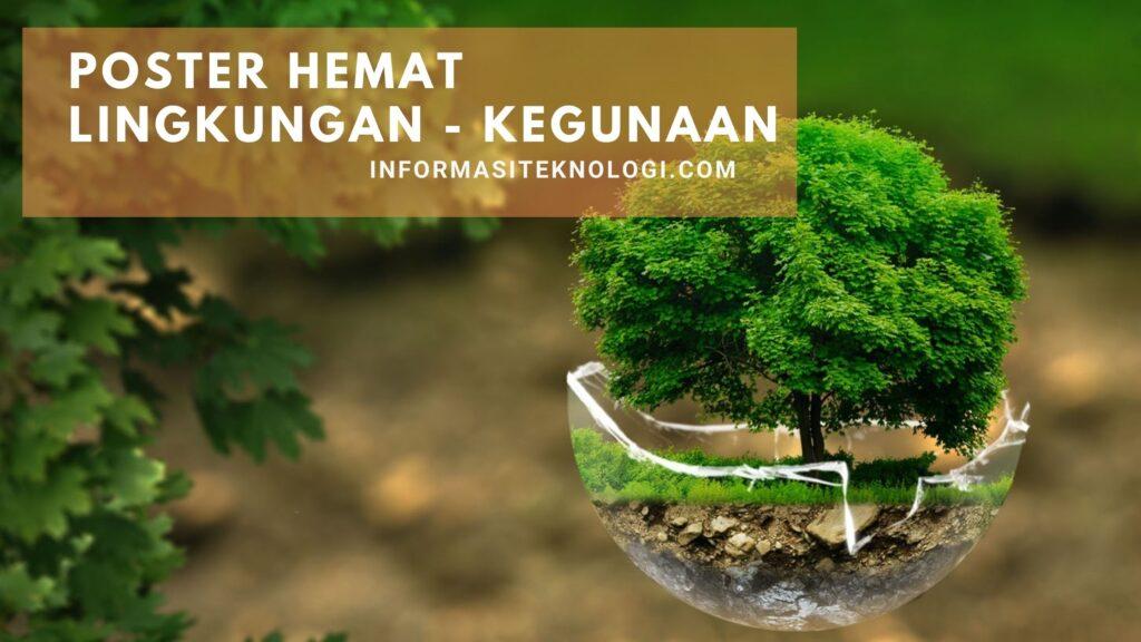 poster-lingkungan-kegunaan-manfaat