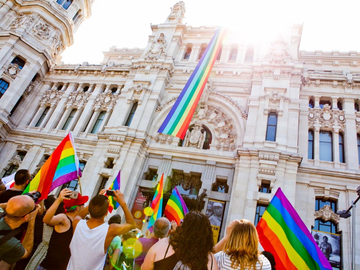 fiesta virtual del orgullo Madrid