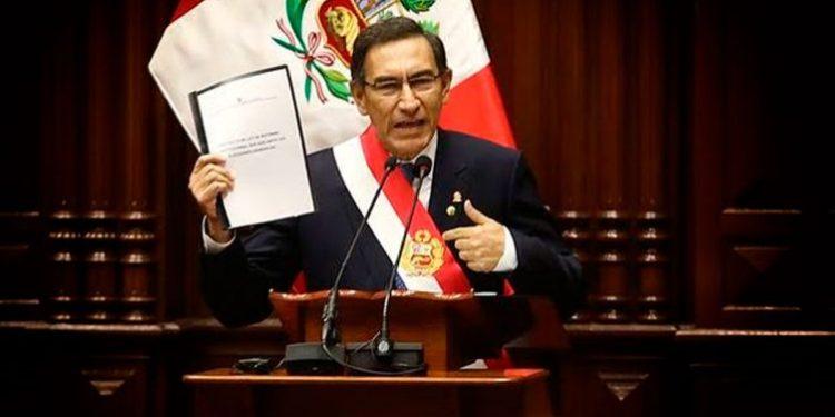 Aprobación del presidente Martín Vizcarra bajó a 48% según última encuesta de Ipsos