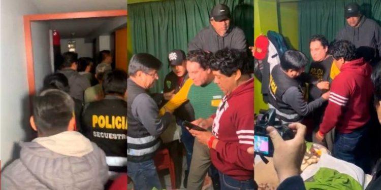 Así fue la captura del prófugo Carlos Burgos en un hotel de Los Olivos