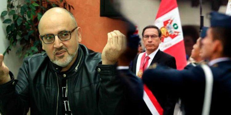 Beto Ortiz habla de un frustrado balconazo del presidente Vizcarra en Chachapoyas