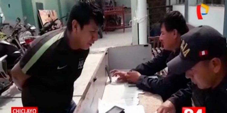 Ladrón se puso a llorar tras ser atrapado robando un celular en Chiclayo