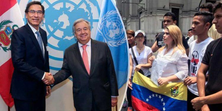ONU agradeció a Martín Vizcarra por recibir a migrantes venezolanos y tratarlos bien