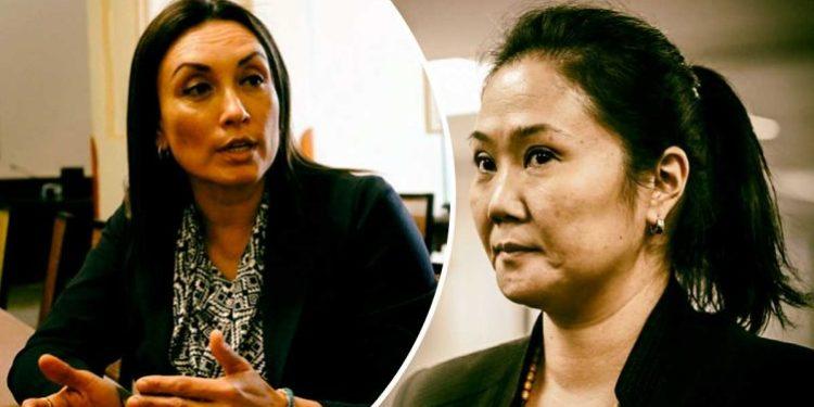 """""""Keiko Fujimori decía, esto no va, esto sí va"""", reveló congresista Patricia Donayre"""