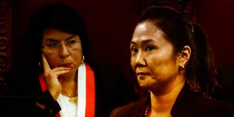 Piden que magistrada Ledesma se aparte del caso Keiko Fujimori por adelantar opinión