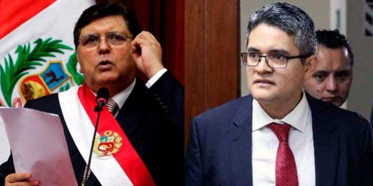 Resguardos policiales de fiscal Pérez brindaron antes seguridad a Alan García