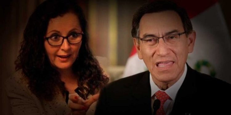 Rosa Bartra asegura que si Vizcarra renuncia, 'se acaban los problemas del país'