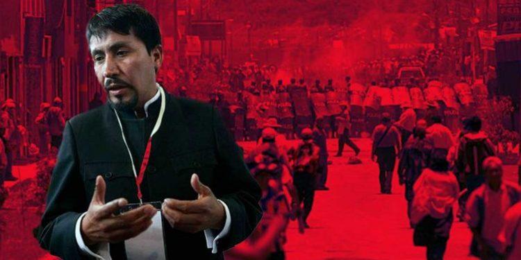 Denunciarán penalmente a Elmer Cáceres Llica por promover actos violentos en Arequipa