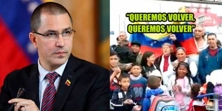 Venezuela acusa al Perú de obstaculizar la repatriación de sus ciudadanos