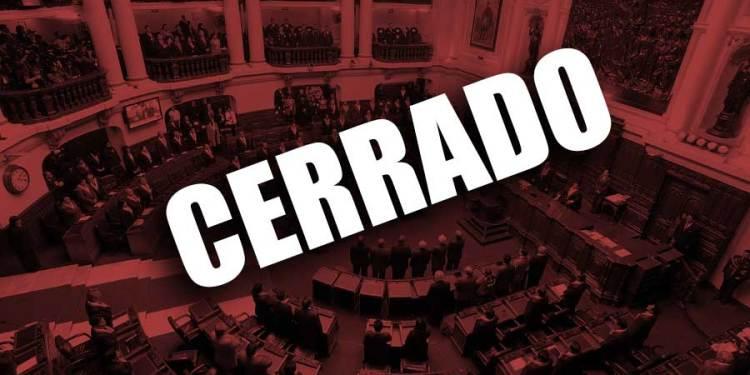 El presidente Martín Vizcarra disolvió el Congreso de la República este lunes