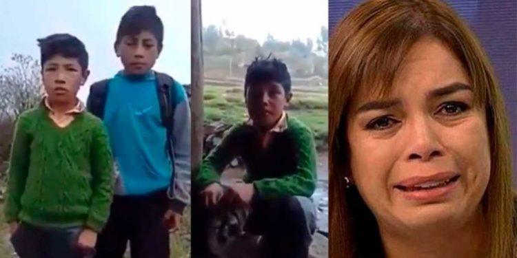 niños dicen no mas venezolanos en peru