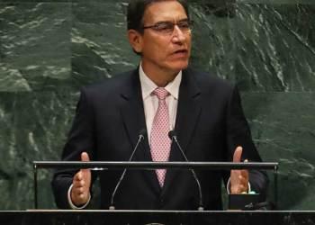 """Vizcarra ante la ONU: """"tenemos crecimiento económico, pobreza reducida y empleo para todos"""""""