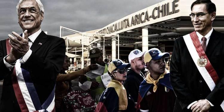 Medidas tomadas por Sebastián Piñera reduce en 80% ingreso de venezolanos en Chile