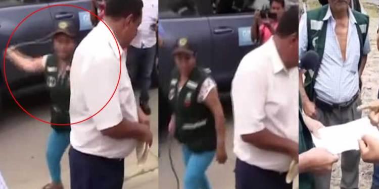 Cajamarca: Ronderos castigan a latigazos a funcionario por llegar tarde a reunión